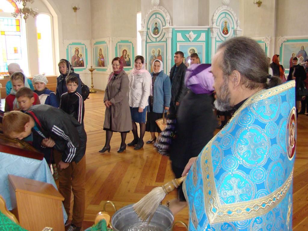 В троицком соборе чаплыгина состоялся молебен перед началом нового учебного года
