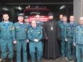 День спасателя прошел МЧС в Чаплыгинском благочинии