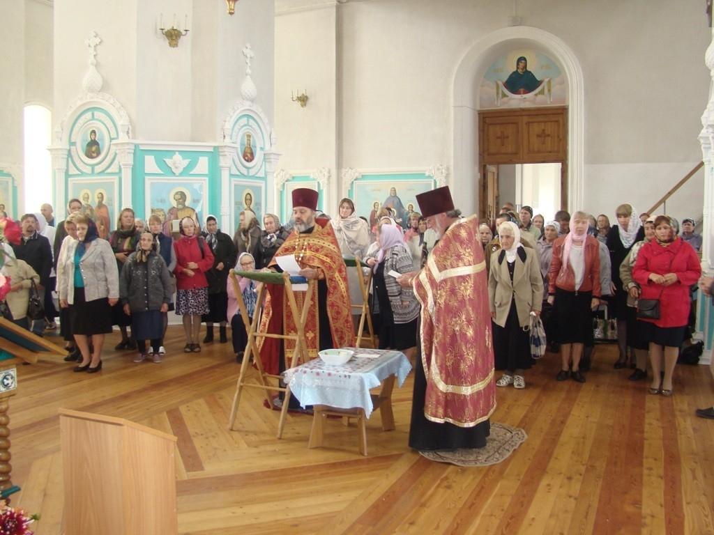 Всенощное бдение в троицком соборе г чаплыгина