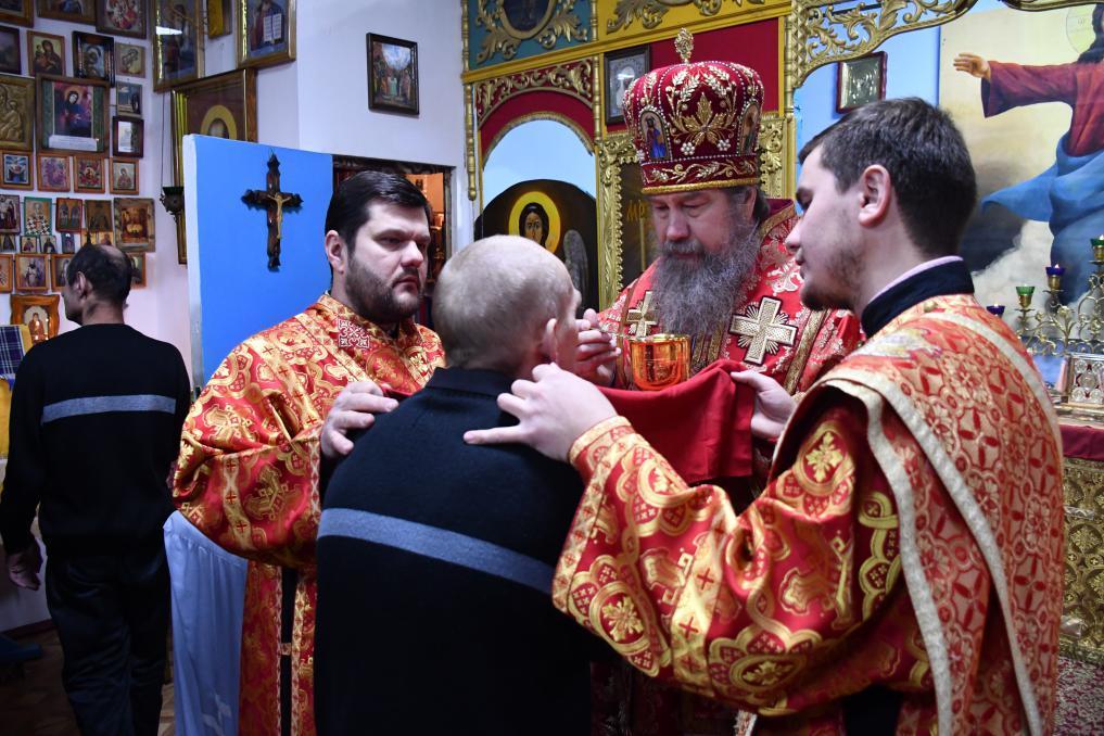 Владыка посетил ИК №3 города Ельца