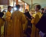 DSC_8Владыка Максим возглавил Всенощное бдение в храме Вознесения Господня124