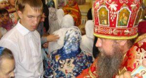 Архиерейское богослужение в Кривополянье