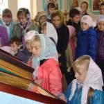 В Троицком соборе Чаплыгина состоялся молебен перед началом нового учебного года для учащихся воскресной школы