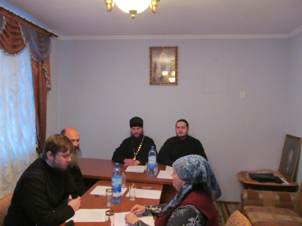Елец. Первое заседание попечительской комиссии (03.12.2013)