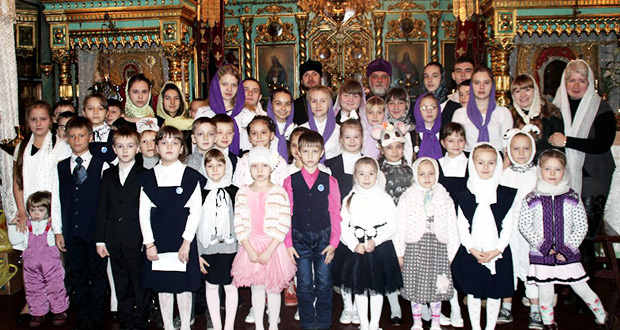 Рождественский утренник в храме Казанской иконы Божией Матери