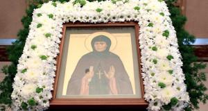 В Сезеновском Иоанно-Казанском женском монастыре молитвенно почтили день памяти преподобной Серафимы Сезеновской
