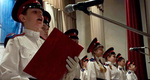 В Елецком районе юные казаки приняли присягу