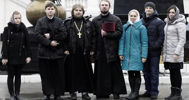 Делегация от Елецкой епархии в православном молодежном форуме в Липецке