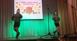 В Лев-Толстовском районе прошли праздничные мероприятия по случаю празднования Дня защитника Отечества