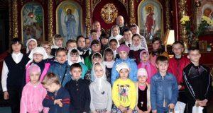Окончание учебного года в воскресной школе Казанского собора г. Лебедянь