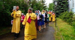 Крестный ход в День славянской письменности и культуры в г. Лебедянь