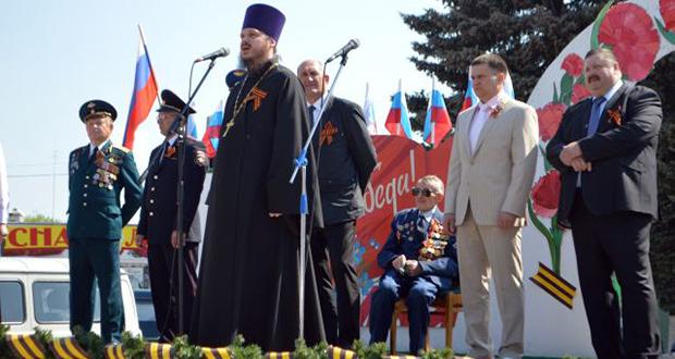 Праздничные мероприятия посвящённые 71-годовщине Победы в Великой Отечественной войне Становлянского благочиния