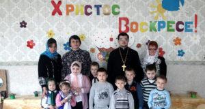 Пасхальные утренникии концертыв селах Конюшки, Ведное и Троекурово Чаплыгинского района