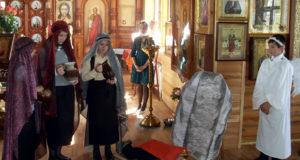 Пасхальные мероприятия учащихся воскресной школы«Радуга» села Новополянье