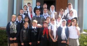 Концерт воскресной школы в Измалково