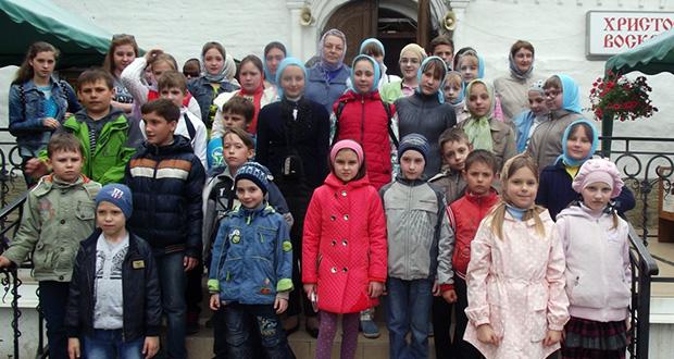 Окончание учебного года в воскресной школе Троицкого собора г. Чаплыгина
