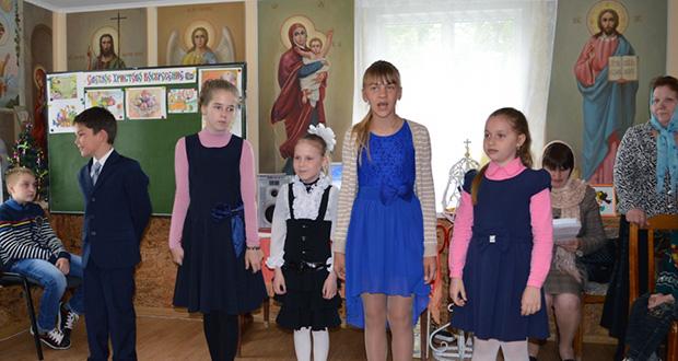 Праздник cвятых жен-мироносиц в воскресной школе с. Кривополянье