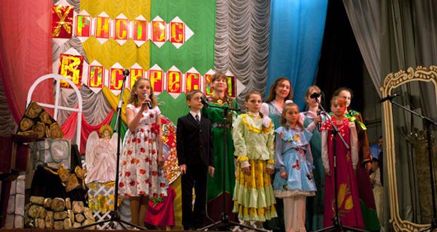 Пасхальный концерт в Доме культуры г. Чаплыгина