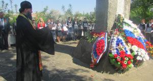 В с. Лавы Елецкого района состоялся митинг, посвящённый 71-й годовщине Победы