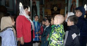 Заключительный урок по ОПК воскресной школы храма Владимирской иконы БМ Измалково