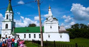 Паломническая поездка воскресных школ Чаплыгинского благочиния в Рязань