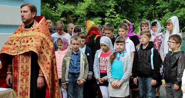 Паломничество по святым местам Лебедяни воскресной школы Казанского храма г. Ельца