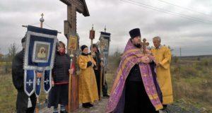 27 сентября состоялся праздничный крестный ход в с.Волотово