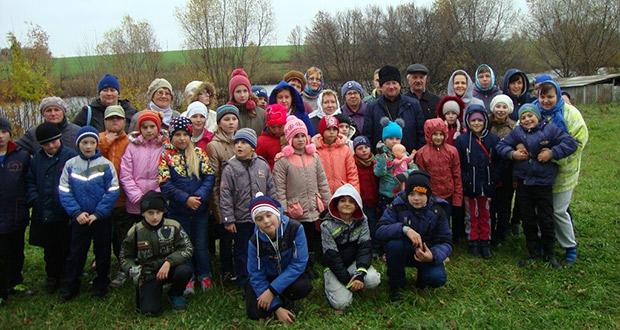 Учащиеся воскресных школ Лев-Толстовского благочиния съездили на природу