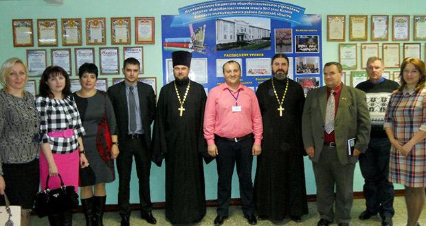 Встреча делегации Данковского района в школе №2 с. Казаки