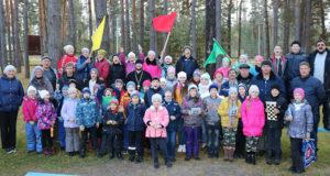 Воспитанники воскресных школ Чаплыгинского благочиния в туристическом походе