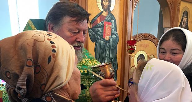 Воспитанники воскресных школ Лебедянского ЦО – в храме преп. Силуана Афонского