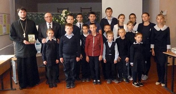 Творческий вечер поэта состоялся в с. Кузовлево Лев-Толстовского района