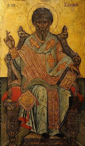 В Елец прибудут мощи святителя Спиридона Тримифунтского