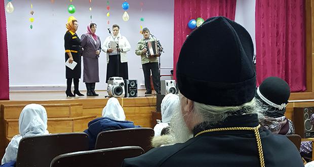 Праздничные мероприятия, посвященные Дню матери в Верхнем Ломовце