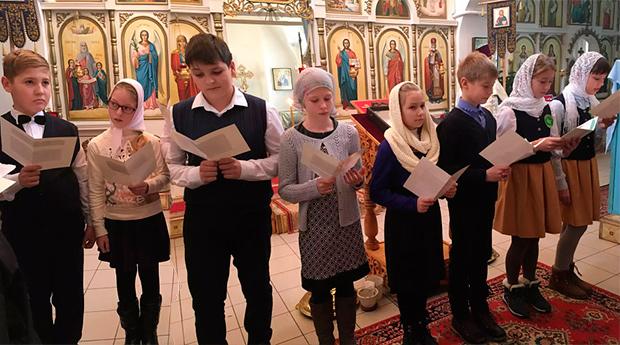 «Славься, Русь моя святая!»- внеклассное мероприятие в воскресной школе с.Большое Попово