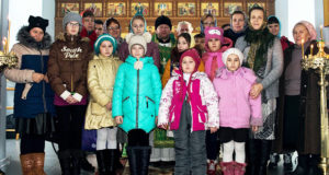 Воспитанники воскресной школы Троицкого храма п.Лев Толстой посетили Шовское