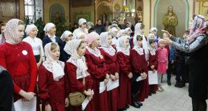 Соборная молитва воспитанников воскресных школ Чаплыгинского благочиния