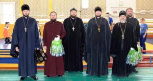 Спортивные соревнования прошли среди воскресных школ Чаплыгинского благочиния