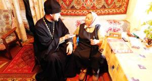 В преддверии Международного дня инвалидов в Данковском благочинии посетили инвалидов