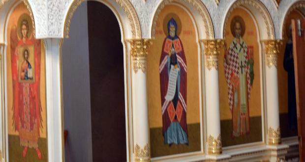 В храме Рождества Христова с. Шовское установлен третий иконостас