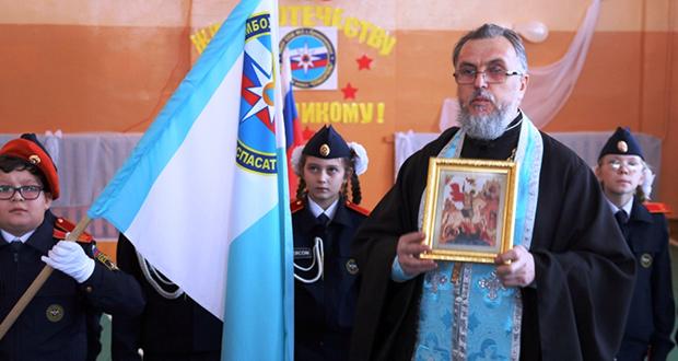 1 декабря 2016 года в школе №2 с. Кривополянье Чаплыгинского района в торжественной обстановке прошло посвящение 17 учеников 5 класса в кадеты. Это первый кадетский класс в Чаплыгинском районе.