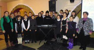 Творческий вечер монахини Авраамии в Елецком районе