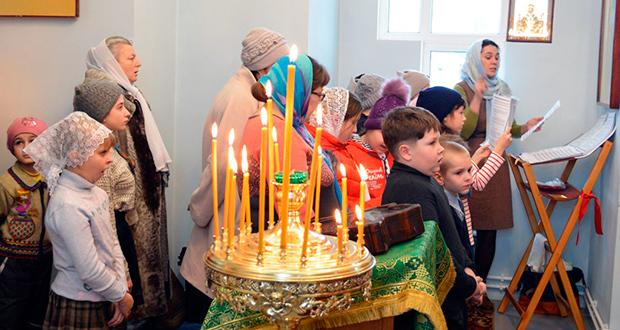 Воспитанники воскресных школ с.Кривополянье и Никольского храма г.Чаплыгина побывали в Шовском