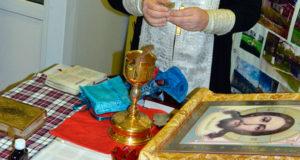Духовенство Чаплыгинского благочиния посетило Демкинский психоневрологический интернат