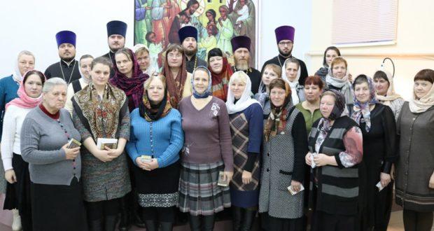 Собрание руководителей и преподавателей воскресных школ Чаплыгинского и Лев-Толстовского благочиний