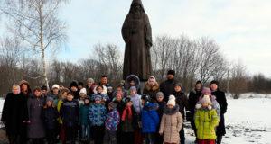 Поездка детей из воскресных школ на родину Силуана