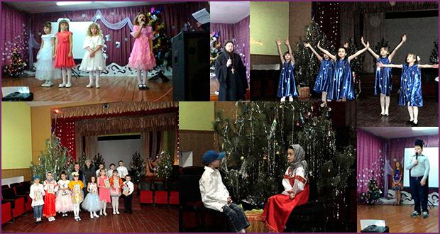 Рождественские утренники в селе Афанасьево Измалковского района