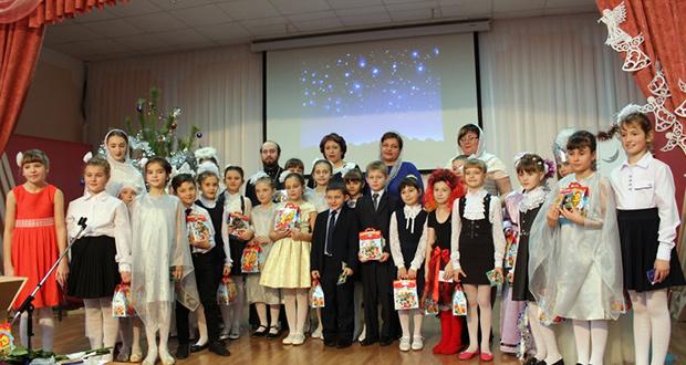 Концерт, посвященный Рождеству в Долгоруково