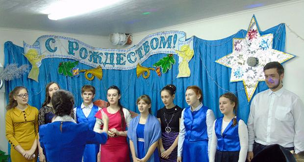 В воскресной школе Знаменского женского монастыря прошли Рождественские мероприятия