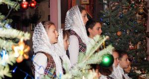 В Введенском храме с. Становое состоялся Рождественский концерт